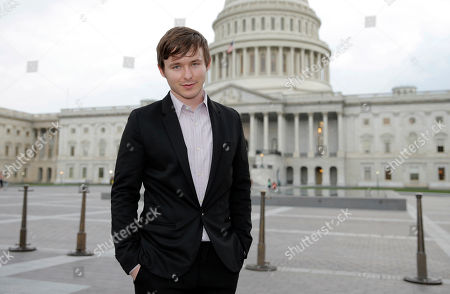 """Stock Photo of Marshall Allman attends a special screening of """"Sugar"""" for Congress, in Washington"""