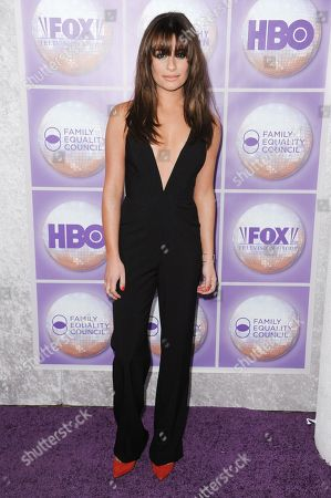 Lea Michele wears a Mason By Michelle Mason jumpsuit at the Family Equality Council Los Angeles Awards Dinner in Beverly Hills, Calif. Jumpsuits are back, for day and evening, at least on the backs of celebrities. Not everyone is sold on jumpsuits, however, and among those who have gone there, evening jumpsuits can still feel risky