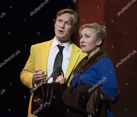 Stock Image of Sasha Cooke as Marnie, James Laing as Terry