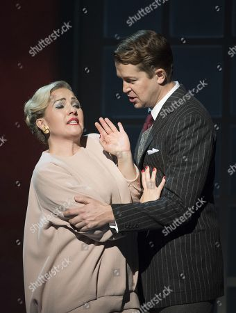 Editorial image of 'Marnie' Opera by Nico Muhly performed by English National Opera at the London Coliseum, UK, 17 Nov 2017
