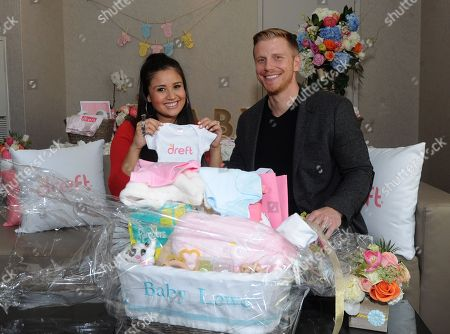 Reality TV couple Sean and Catherine Lowe celebrate their pregnancy at the Dreft Loads of Love baby shower, in New York. Visit Dreft.com and the brand's social channels for more information about the couple's parenting journey