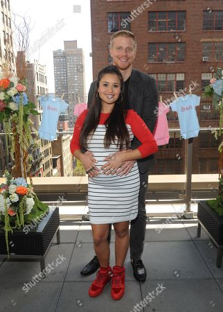 Reality TV couple Sean and Catherine Lowe celebrate their pregnancy at the Dreft â?oeLoads of Loveâ?? baby shower, in New York. Visit Dreft.com and the brandâ?™s social channels for more information about the coupleâ?™s parenting journey