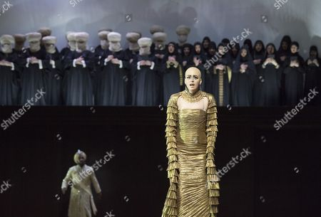 Editorial picture of 'Semiramide' Opera performed at the Royal Opera House, London, UK, 17 Nov 2017