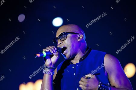 Stock Photo of Haddaway in concert at We Love Retro