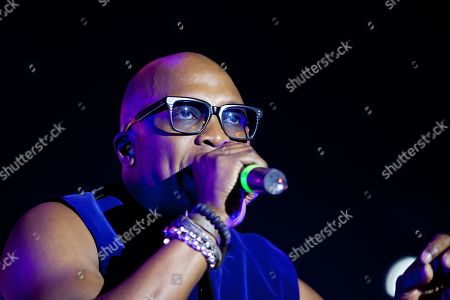 Stock Picture of Haddaway in concert at We Love Retro