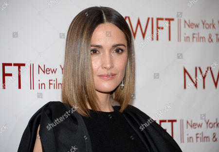 "Actress Rose Byrne attends the New York Women in Film & Television Honors gala at the McGraw-Hill Building in New York. Byrne will join the cast of ""You Can't Take It With You."" Previews will begin in August at the Longacre Theatre, with official opening set for Sept. 28. Scott Ellis will direct"