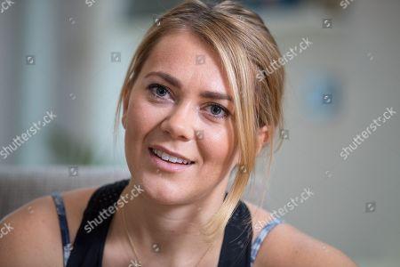 Cyclist Jess Varnish - Cyclist Jess Varnish Interview With Martha Kelner Nov 4th 2016 - Manchester UK.