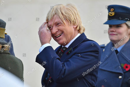 Michael Fabricant Member Of Parliament For The Lichfield Constituency In Staffordshire At The Armistice Day Service National Memorial Arboretum Alrewas Staffs. - 11/11/16.