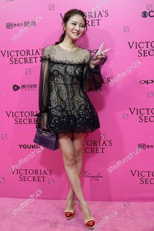 Editorial picture of Victoria's Secret, Shanghai, China - 20 Nov 2017