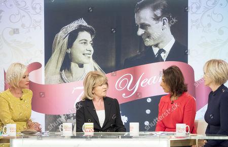 Denise Van Outen, Ingrid Seward, Saira Khan and Jane Moore