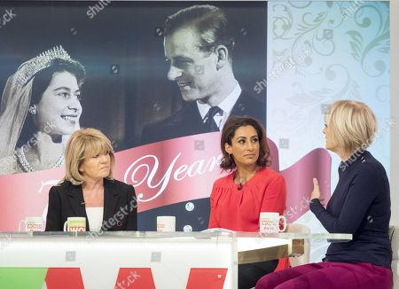 Editorial image of 'Loose Women' TV show, London, UK - 20 Nov 2017
