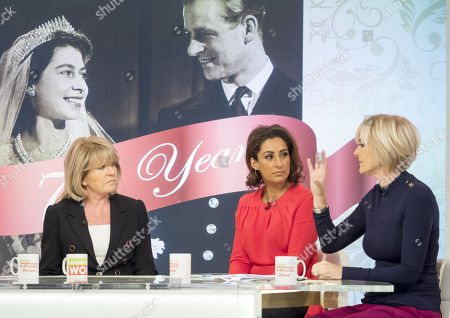 Ingrid Seward, Saira Khan and Jane Moore