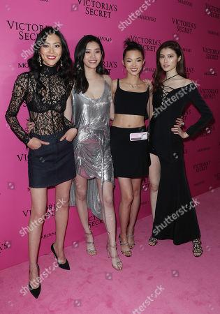 Liu Wen, Ming Xi, Xiao Wen and Sui He