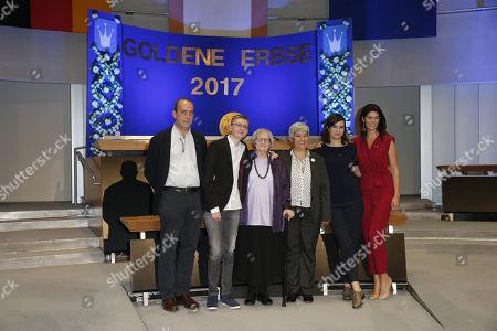 Preistraeger: Patrick de Saint-Exupery, MarmeladenOma and Enkel Janik, Seyran Ates, Nora Tschirner, Miriam Mack