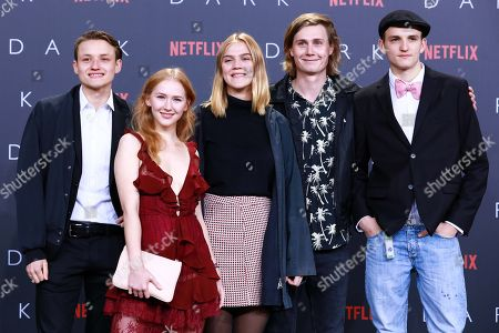 Editorial photo of Premiere of first German Netflix original series Dark at Zoo Palast, Berlin, Germany - 20 Nov 2017