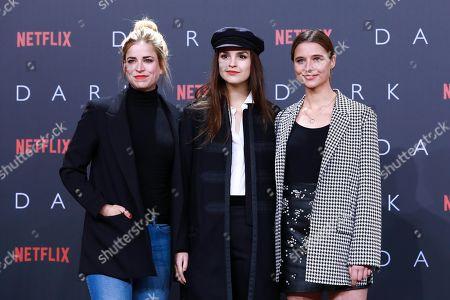 Merle Collet, Luise Befort and Svenja Jung
