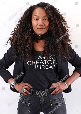 """Sonja Sohn poses for a portrait in New York to promote her documentary, """"Baltimore Rising"""