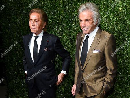 Valentino, Giancarlo Giammetti. Valentino, left, and Giancarlo Giammetti attend the 14th Annual CFDA Vogue Fashion Fund Gala at Weylin, in New York