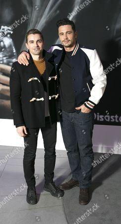 Stock Photo of David Franco and James Franco