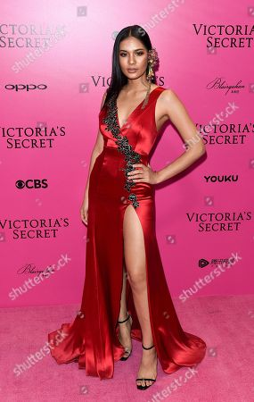 Editorial picture of Victoria's Secret Fashion Show, Pink Carpet Arrivals, After Party, Expo Center, Shanghai, China - 20 Nov 2017
