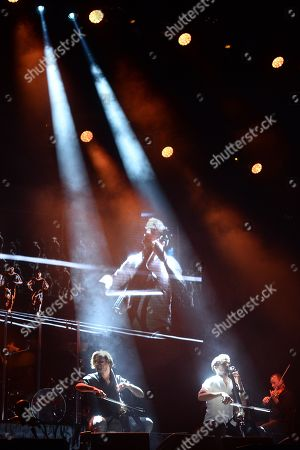 Stock Picture of Luka Sulic and Stjepan Hauser