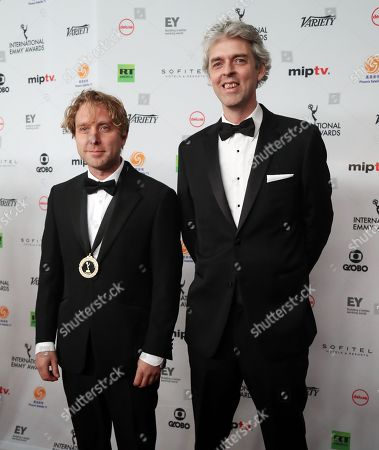 Stock Image of James Bluemel and Will Anderson