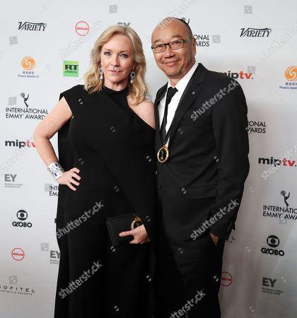Editorial image of Arrivals -  45th International Emmy Awards Gala, New York, USA - 20 Nov 2017
