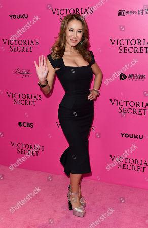 Editorial image of Victoria's Secret Fashion Show, Pink Carpet Arrivals, Mercedes Benz Centre, Shanghai, China - 20 Nov 2017