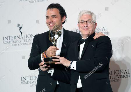 Editorial picture of Press Room - 45th International Emmy Awards Gala, New York, USA - 20 Nov 2017
