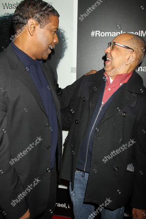 Denzel Washington and George C Wolfe