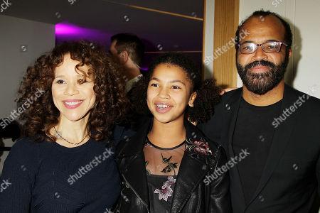 Rosie Perez, Jeffery Wright and Juno Wright
