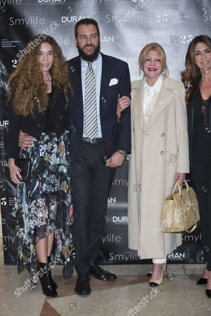 Editorial picture of Smylife Collection Beauty Art III presentation, Thyssen Museum, Madrid, Spain - 20 Nov 2017