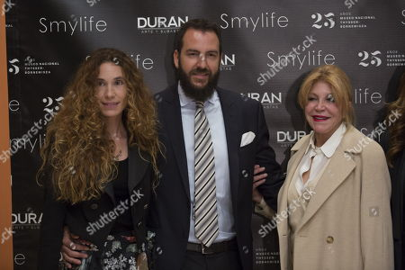 Editorial photo of Smylife Collection Beauty Art III presentation, Thyssen Museum, Madrid, Spain - 20 Nov 2017