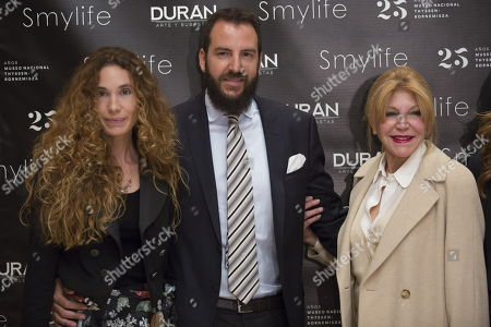 Editorial image of Smylife Collection Beauty Art III presentation, Thyssen Museum, Madrid, Spain - 20 Nov 2017