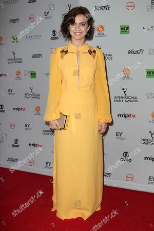 Editorial photo of International Emmy Awards 2017, New York, USA - 20 Nov 2017