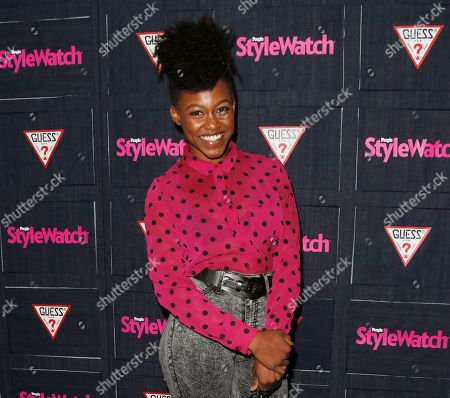 Stock Photo of Daniele Watts attends The Hollywood Denim Party at Palihouse in West Hollywood. A judge, ordered Watts and her boyfriend, Brian Lucas, to apologize to police officers the actress accused of racial profiling as part of a plea agreement to resolve a lewd conduct case. Watts and Lucas pleaded no contest to one count each of disturbing the peace with loudness and will have the case dismissed if they write apology letters, serve 40 hours of community service and stay out of trouble for one year
