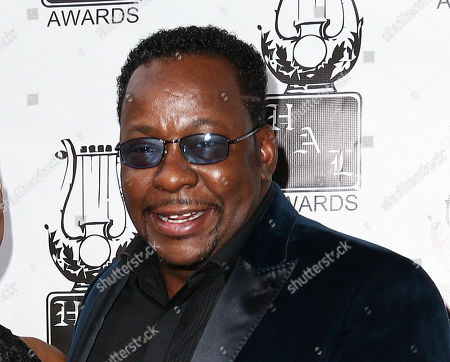 Bobby Brown attends the 26th Annual Heroes and Legends Awards in Beverly Hills, Calif. In an interview with ABC News published online on June 6, 2016, Brown suggested a family friend is to blame for the deaths of ex-wife Whitney Houston and the couple's daughter, Bobbi Kristina Brown