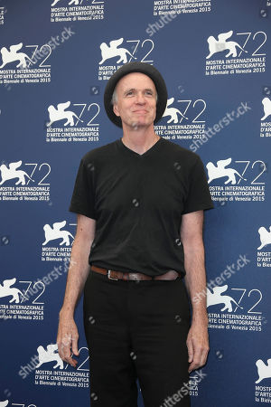 Actor Tom Noonan poses during the photo call for the film Anomalisa at the 72nd edition of the Venice Film Festival in Venice, Italy, . The 72nd edition of the festival runs until Sept. 12