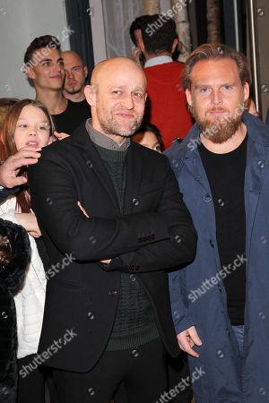 Juergen Vogel with Axel Stein