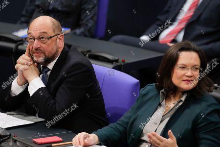 Editorial photo of Parliament, Berlin, Germany - 21 Nov 2017