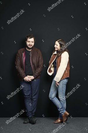 Stock Picture of Joan Chemla and Karim Leklou