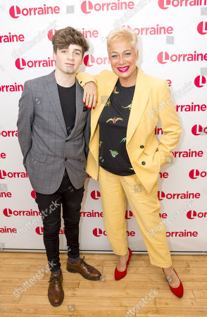 Louis Healy and Denise Welch