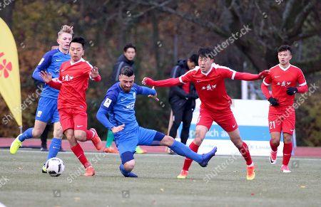 Editorial image of TSV Schott Mainz v U20 China friendly football match, Mainz, Germany - 18 Nov 2017