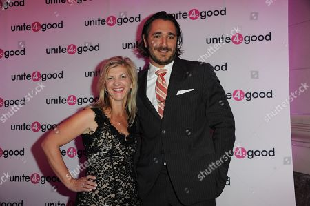 Stock Image of Unite 4:good - The Global Movement for Humanity at Residence of Baronness Von Bismark Red Carpet: Sergio Fernando de Cordoba - Danielle Alexandra