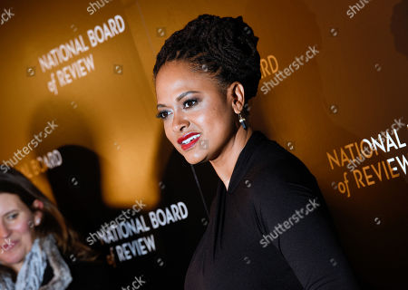 """Stock Photo of Ava DuVernay, director of """"Selma,"""" attends the National Board of Review awards gala in New York. DuVernay and Oprah Winfrey are creating a drama series for Winfrey's TV channel. The project is inspired by the Natalie Baszile novel """"Queen Sugar,"""" the OWN channel said Monday, Feb. 2. Winfrey will serve as executive producer and will play a recurring role _ the first time she's acted in a series for OWN, the network said"""