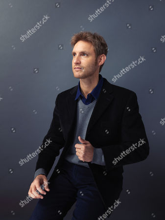 """Damian Szifron poses for a portrait to promote the film, """"Wild Tales"""", at the Eddie Bauer Adventure House during the Sundance Film Festival, in Park City, Utah"""