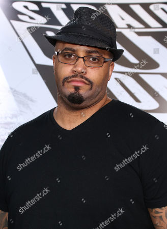 "R. Marcos Taylor arrives at the Los Angeles premiere of ""Straight Outta Compton"" at the Microsoft Theater in Los Angeles. The film ""Straight Outta Compton isn't just about the rise of gangster rap, it's become a backdrop to a murder case against Death Row Records co-founder Marion ""Suge"" Knight. Knight's portrayal in the film played by the actor Taylor - which veers from savvy businessman to violent thug - was apparently an issue that led to a parking lot confrontation in January 2015 that left one man dead and one of the film's advisers seriously injured"