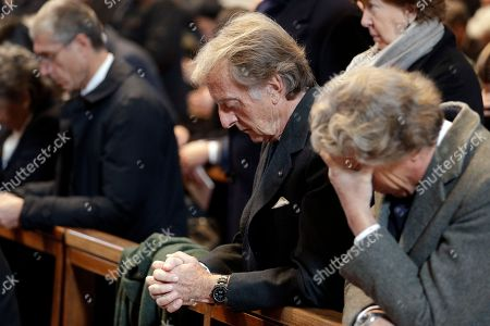 Businessmen Luca Cordero di Montezemolo attends the funeral of his relative late Cardinal Andrea Cordero Lanza di Montezemolo, presided by Pope Francis, in St. Peter's Basilica, at the Vatican