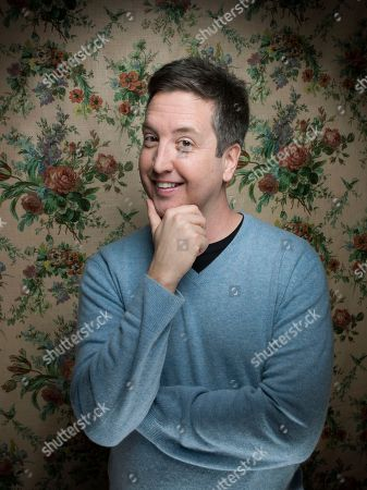 """Actor Steve Little from the film """"Wrong Cops"""" poses for a portrait during the 2013 Sundance Film Festival at the Fender Music Lodge on in Park City, Utah"""