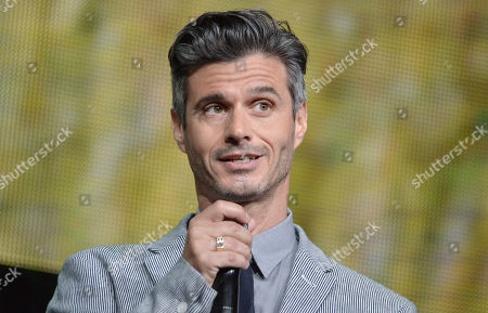 Evan Shapiro, president of Pivot, speaks on stage at the Pivot 2014 Summer TCA at the Beverly Hilton Hotel in Beverly Hills, Calif. Shapiro's new online comedy channel, Seeso, vows to make you laugh more and better than ever before